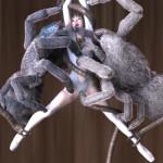 巨大な蜘蛛クモに犯される異種姦蟲姦アニメエロ同人がすごい!